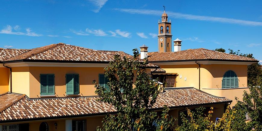 Tetti d 39 italia wierer e cotto coperture le case - Alzare tetto casa ...