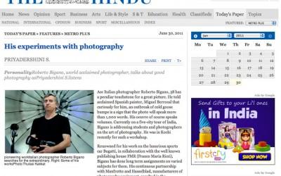 The Hindu | Roberto Bigano. His experiments with photography